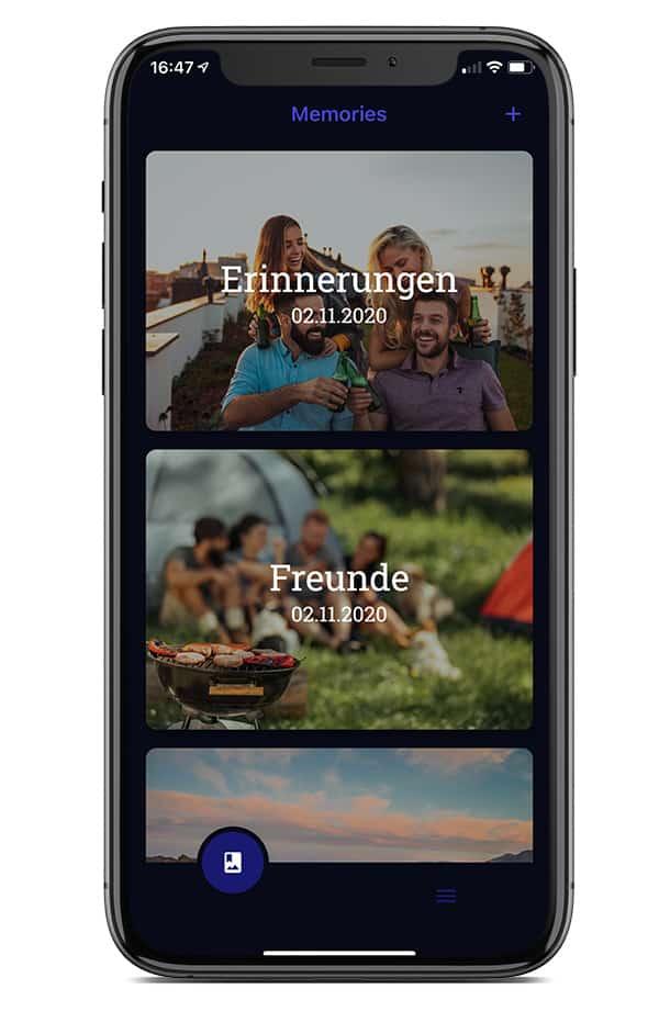 Memories App 01
